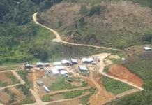 Ecuador: campamento minero San Carlos