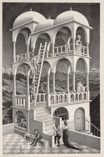 Escher: Belvedere