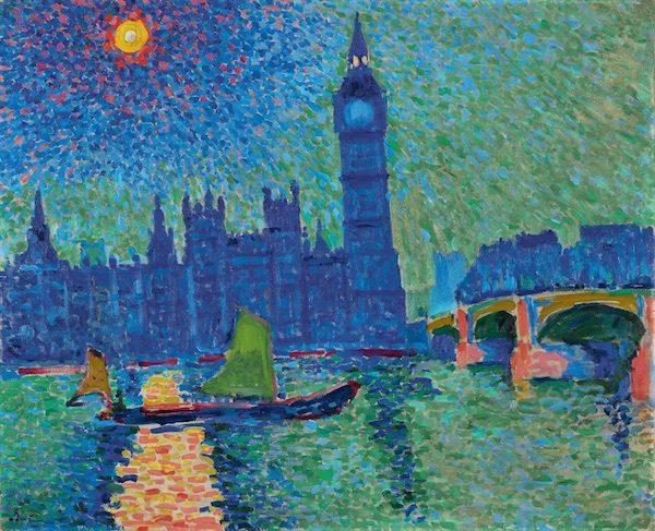 Pintores fauvistas: A. Derain, Big Ben. Londres. . Fundación Mapfre, octubre 2016