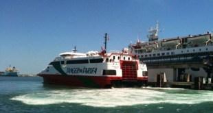 Ferrie de Tarifa a Tanger de FRS