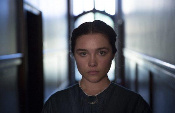 Florence Pugh en el papel de Lady Macbeth