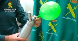 El gas de la risa: la nueva droga a 50 céntimos de euro