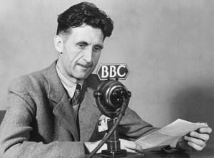George Orwell en un programa de la BBC