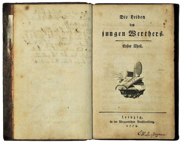 Goethe, Las penas del joven Werther