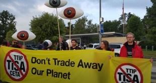Greenpeace aporta más datos sobre los peligros del tratado TISA