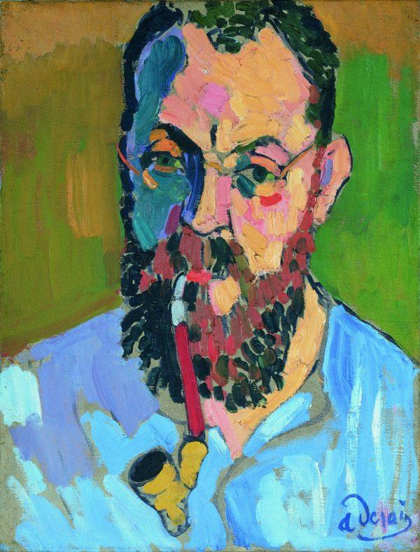 Retrato de Henri Matisse por André Derain 1905. André Derain/VEGAP/Madrid 2016. Tate, London 2016.
