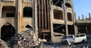 El hospital Jassem destruido en Deraa, Siria. Médicos del Mundo