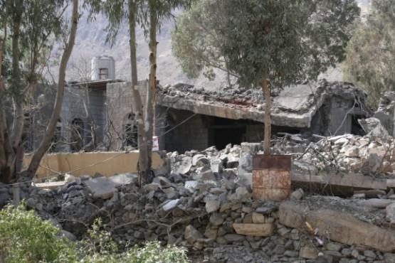 Hospital de Haydan gestionado por MSF en Yemen, bombardeado por la coalición que lidera Arabia Saudí