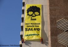 Greenpeace-carbon-Sevilla