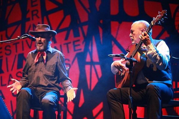 El Cabrero, artista insólito y extraordinario en el Festival Cante de las Minas 2016