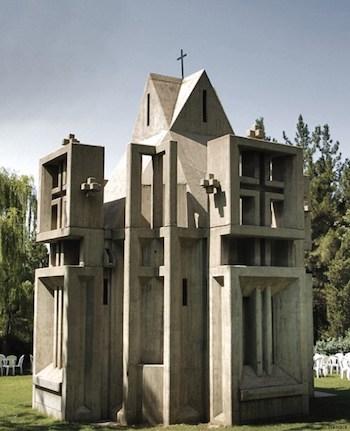 Capilla de la Santa Cruz, construida en 1987 por la comunidad armenia en Teherán