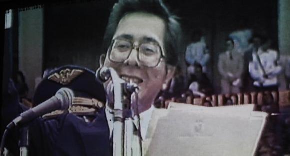 Último discurso del presidente Jaime Roldós Aguilera en el estadio Atahualpa, de Quito, el 21 de mayo de 1981. Foto: Youtube