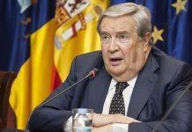 Jerónimo Saavedra en su época de alcalde de Las Palmas