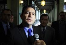 Jimmy Morales, presidente de Guatemala. Foto: elperiodico