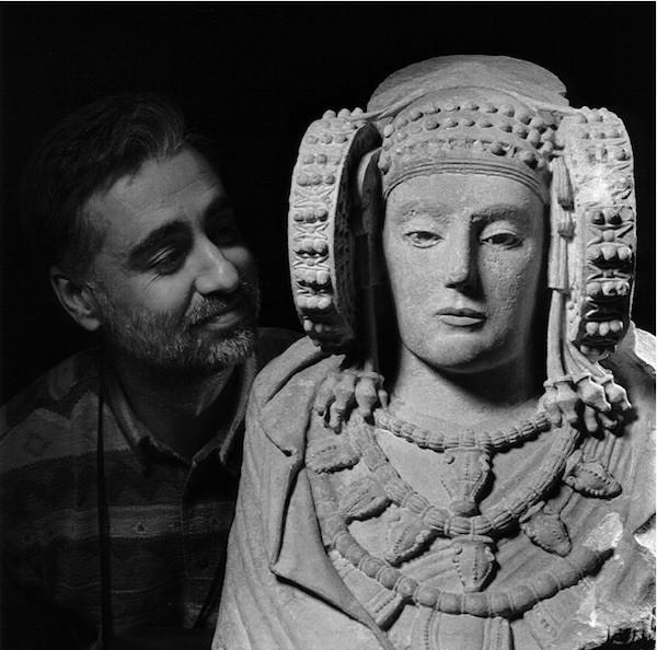 José Latova entra en el Museo Arqueológico de Madrid