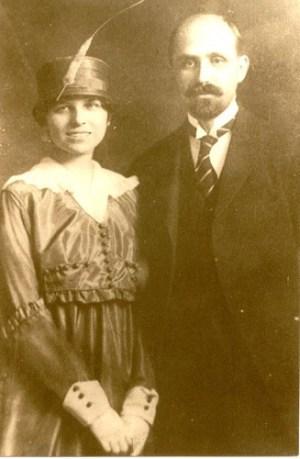 Juan Ramón Jiménez con Zenobia Camprubí
