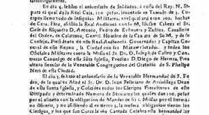La Gaceta de Guatemala, 1729