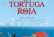 La tortuga roja, cartel