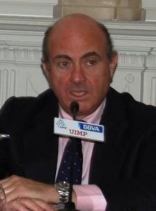 Luis de Guindos en su intervención en Santander en 2014