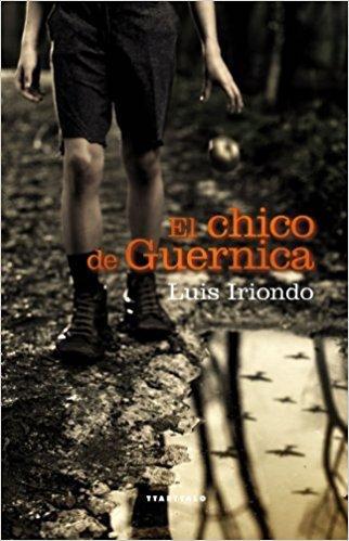 """Portada de """"El chico de Guernica"""""""