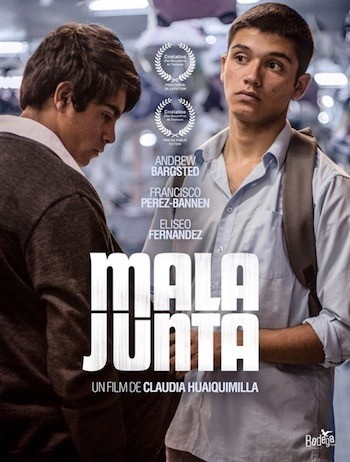 mala junta poster