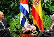 Entrevista en La Habana entre García Margallo y Raúl Castro
