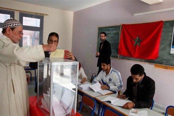 Marruecos, colegio electoral, 2016