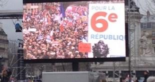 Presidenciales francesas: fuerte movilización por la VI República