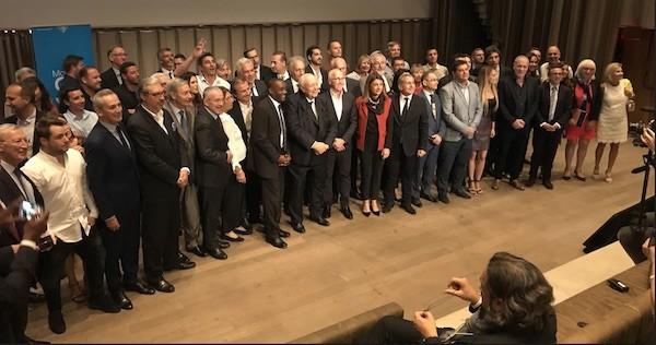 Delegación de la Metropoli Aix-Marseille Provence en la Semana de Francia en Miami.