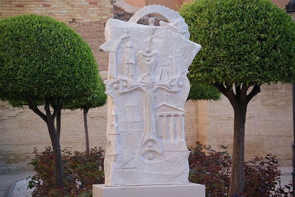 Monumento al genocidio armenio en Mislata.