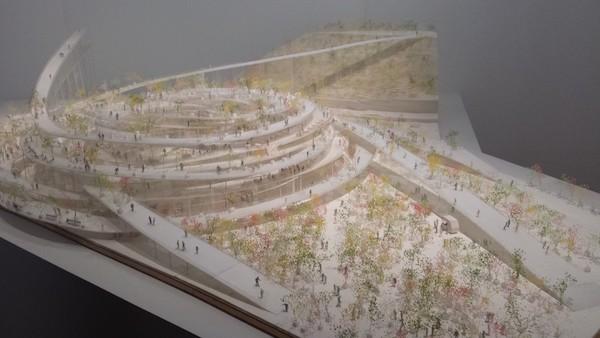 Maquetas de Ishigami en el MoMA