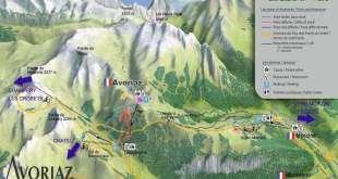 Rutas de montaña en Morzine-Avoriaz