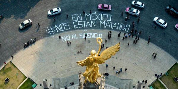 Protestas en México por el asesinato de periodistas