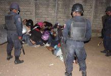 Intervención policial en México. Foto: cuartoscuro