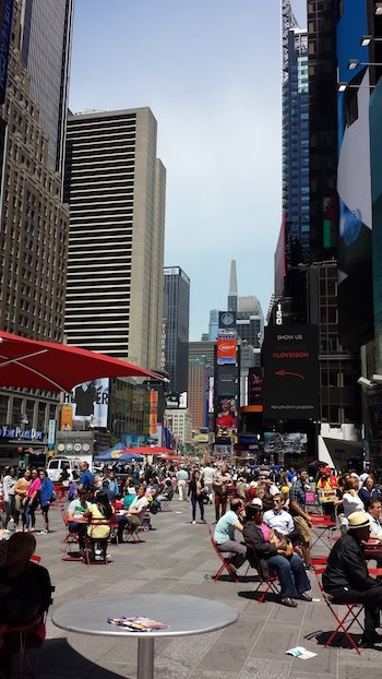 NY: Times-Square y Broadway