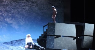 Adriana Bianco: Germán Olvera en un ensayo previo al estreno de Bomarzo en el Teatro Real de Madrid