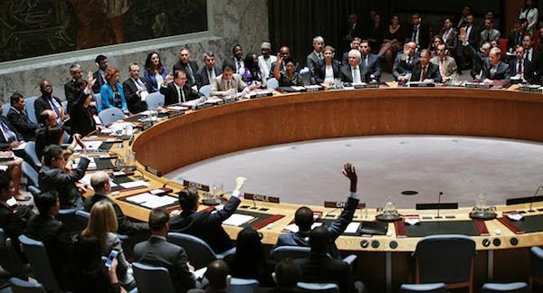 Sesión del Consejo de Seguridad de la ONU.
