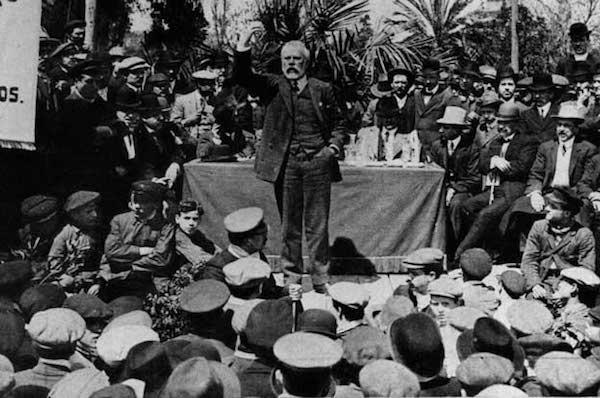 Mitin de Pablo Iglesias (PSOE)