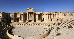 Foto de archivo del teatro romano de Palmira