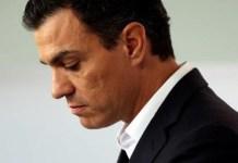 Pedro Sánchez anuncia su dimisión como secretario general del PSOE