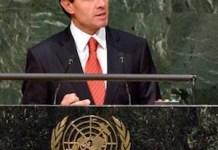 Peña Nieto defiende en la ONU la despenalización del consumo de marihuana