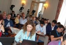 Periodistas asistentes al curso de la APIE en Santander