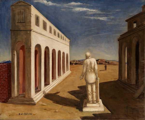 Piazza d'Italia. Giorgio de Chirico