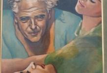 Picabia, autorretrato, oleo sobre tela