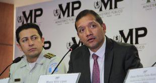 Autoridades policiales de Guatemala