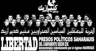 Podemos cuestiona la condena de los 25 saharauis de 'Gdeim Izik'
