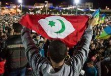 Una imagen de una pasada protesta popular en Alhucemas
