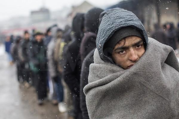 Refugiados en Belgrado' de Alejandro Martínez Vélez