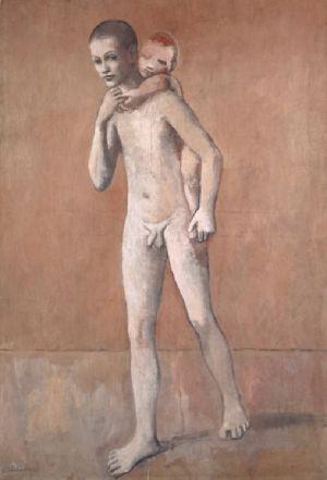 P.Picasso. Los dos hermanos