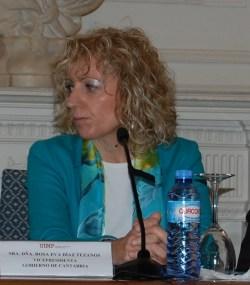 Rosa Eva Díaz Tezanos, vicepresidenta de Cantabria